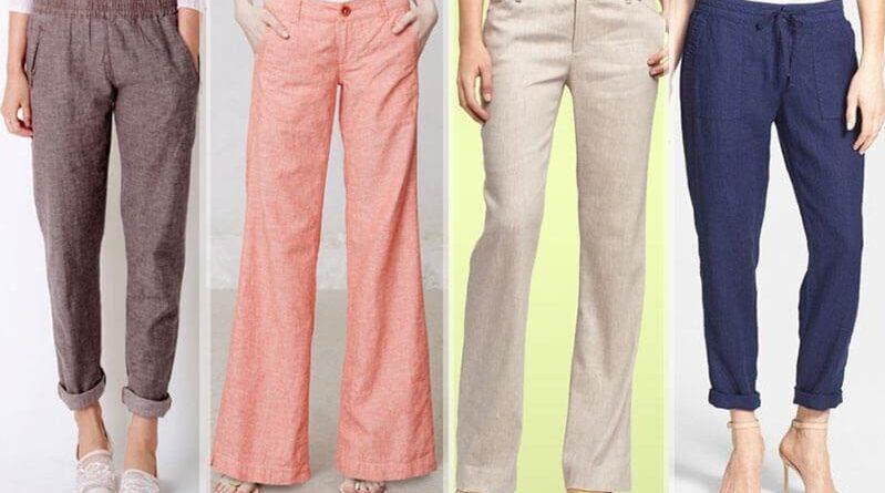 Linen pants